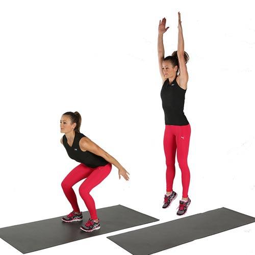 Eo thon dáng chuẩn với bài tập squat giảm mỡ bụng nhanh chóng