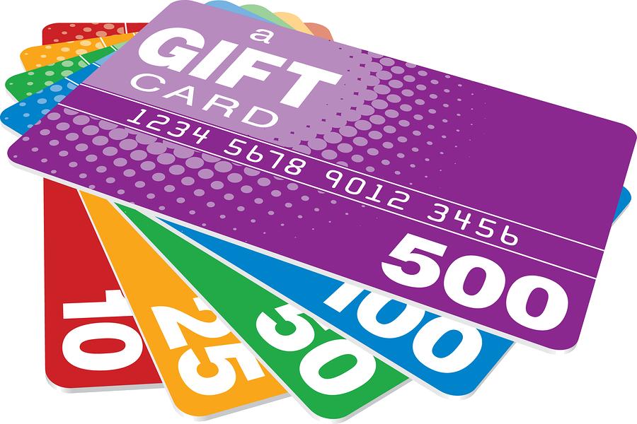 Các doanh nghiệp thường tặng thẻ gift cards vào những nhân dịp gì?