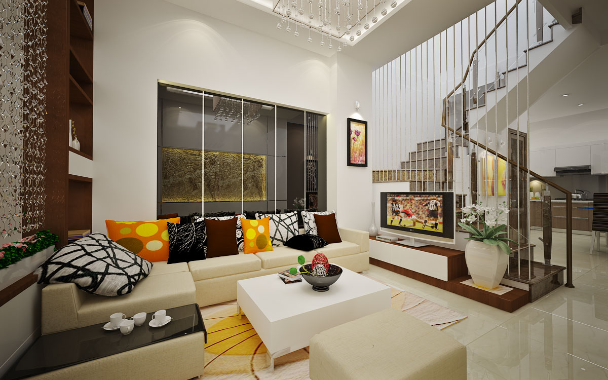 Ngắm nhìn nội thất nhà phố hiện đại thu hút mọi ánh nhìn