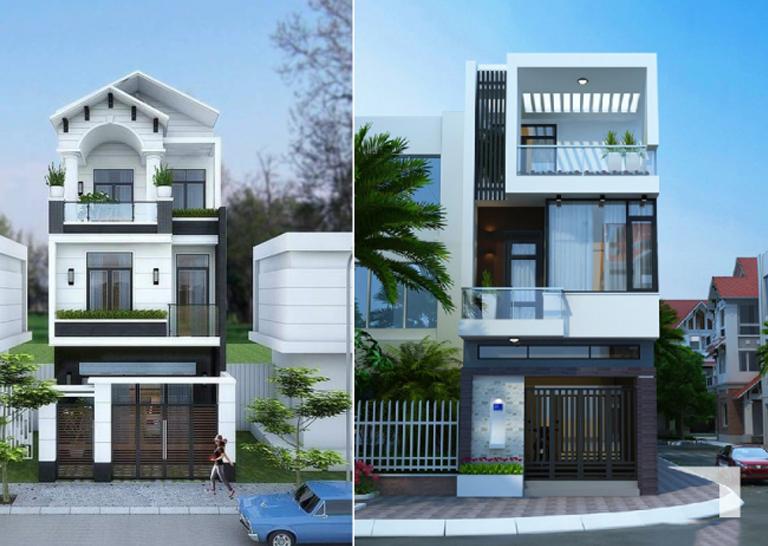Những mẫu nhà phố đẹp 3 tầng mà bạn không nên bỏ qua