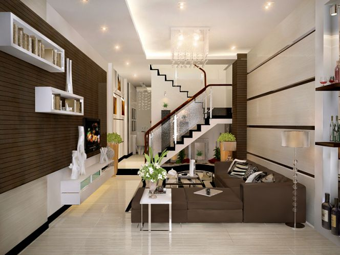 Những cách trang trí phòng khách đẹp và khéo léo