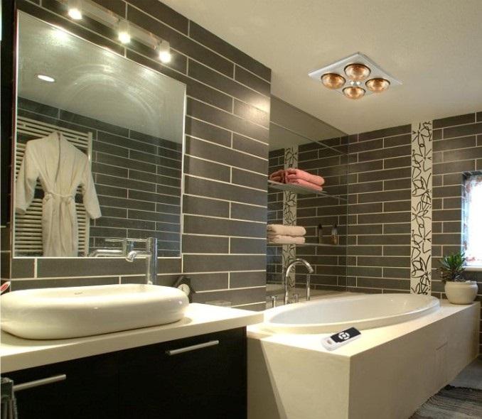 Một số cách lắp đặt đèn nhà tắm phù hợp