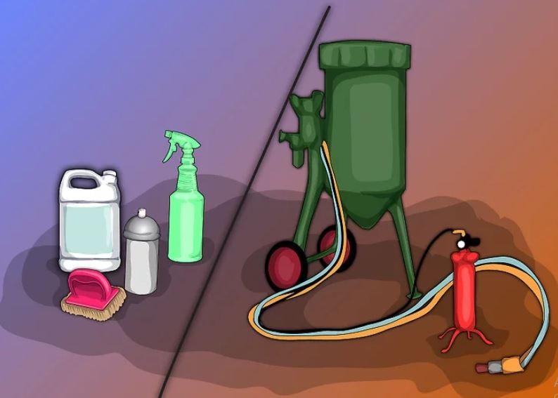 Làm thế nào để loại bỏ sơn Epoxy khỏi sàn bê tông
