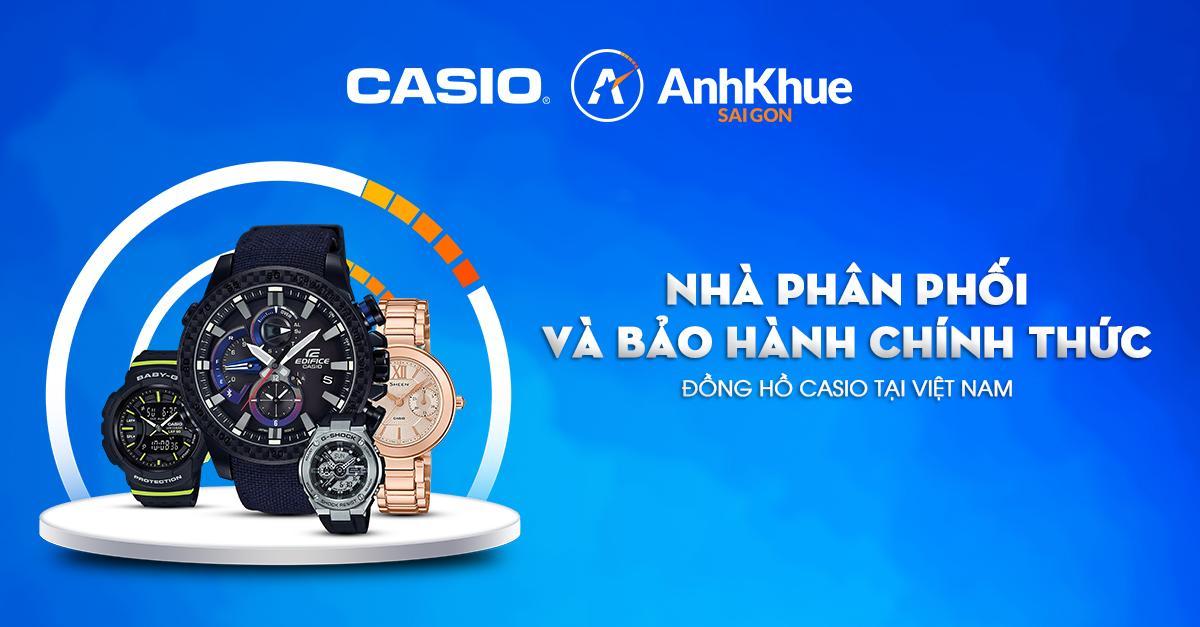 Những lý do nên chọn đồng hồ Anh Khuê khi mua Casio chính hãng