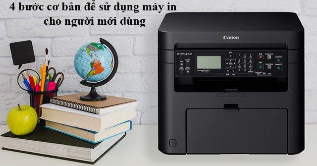 Hướng dẫn cách sử dụng máy in đơn giản