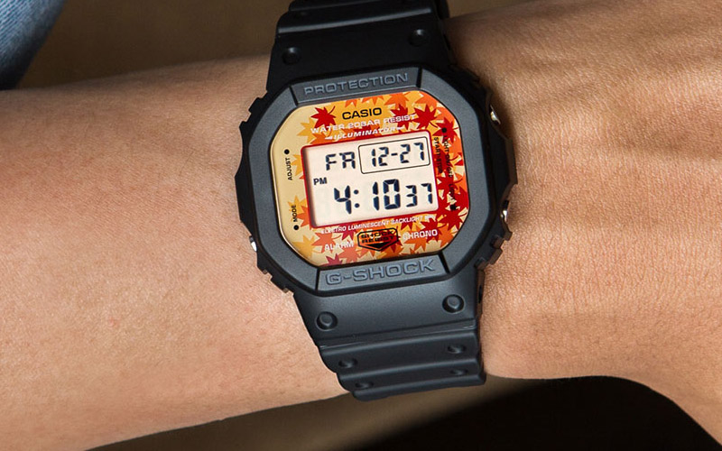 Những mẫu đồng hồ G Shock nam theo   phong cách hè thu ấn tượng