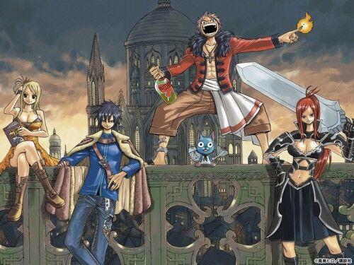 Truyện tranh Fairy Tail chap 47: Hội Phantom Lord