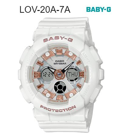 Có nên chọn đồng hồ Baby-G LOV-20A-7A làm quà tặng cho người yêu?