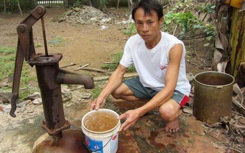 Máy lọc nước giếng khoan trong gia đình