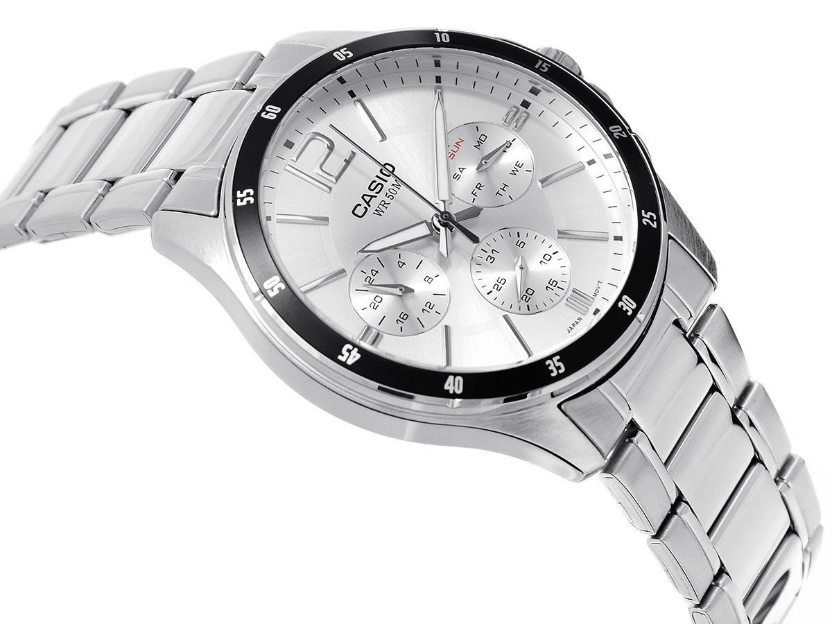 Vì sao nên chọn mua đồng hồ Casio dây kim loại MTP-1374D-7AV chính hãng?
